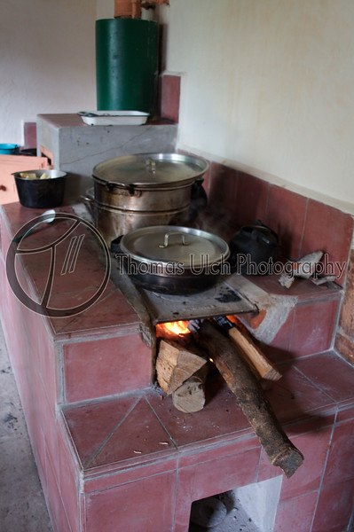 Is lunch ready yet? I love the wood fired stoves! Villa Mercedes.