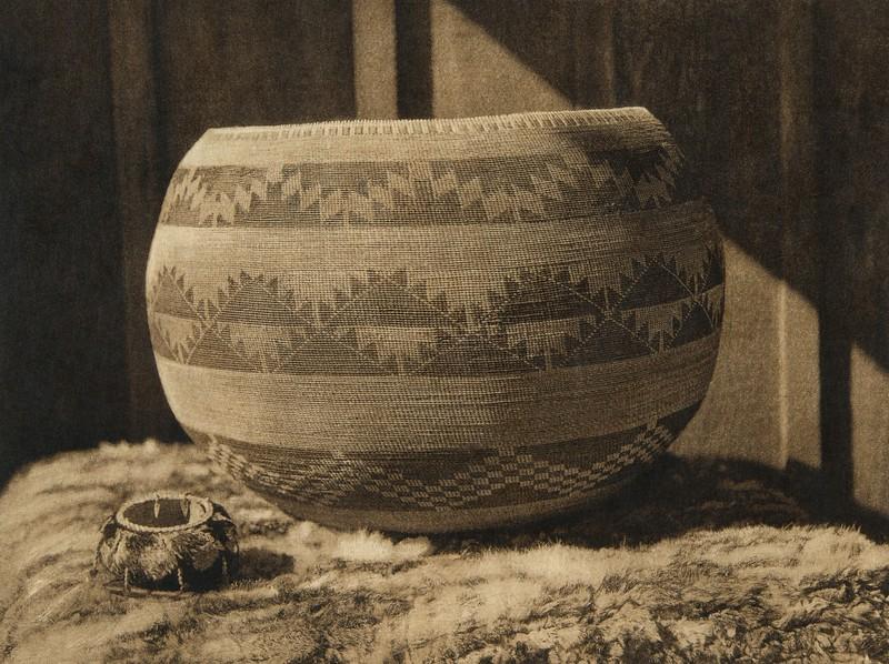 Pomo baskets (The North American Indian, v. XIV. Norwood, MA, The Plimpton Press, 1924)