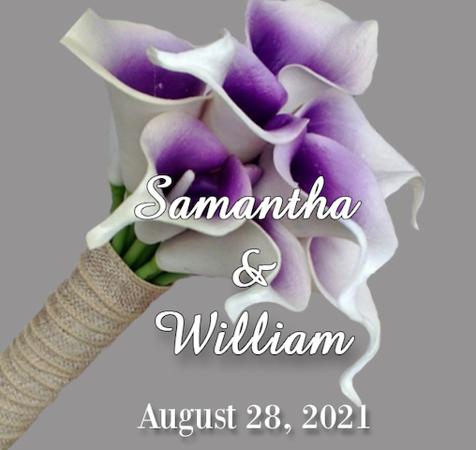 Wedding of Samantha & William   August 28, 2021      (Prints)
