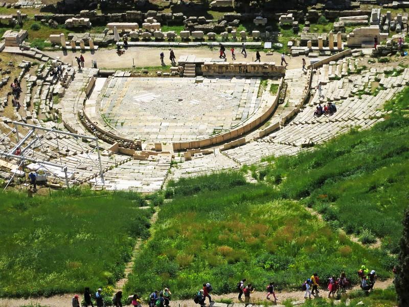 Greek Theatre of Dionysus, 330 BCE