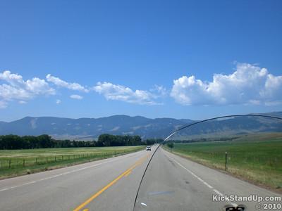 Big Horn Mountain Range, Wyoming