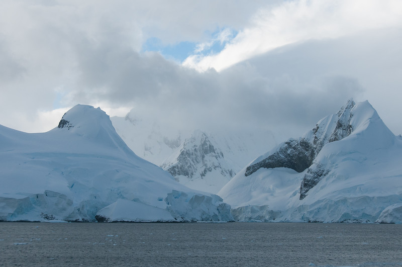 Scenery in the Lemaire Channel, Antarctica