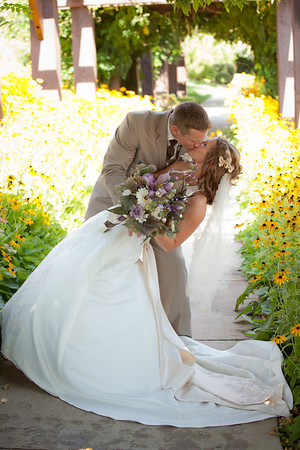 Lewis and Laci Wedding  at Barber Park Events Center Boise