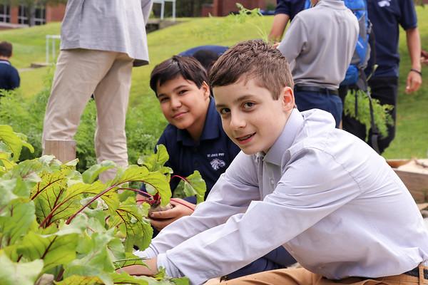 Environmental Club's Fall Harvest