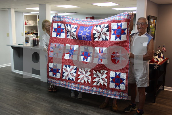 Quilts of Valor Presentation - September 2016
