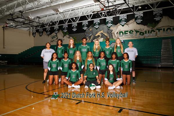 2021 varsity Volleyball