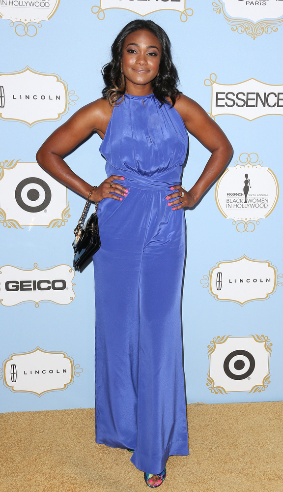 Description of . Actress Tatyana Ali attends the Sixth Annual ESSENCE Black Women In Hollywood Awards Luncheon at the Beverly Hills Hotel on February 21, 2013 in Beverly Hills, California.  (Photo by Frederick M. Brown/Getty Images)