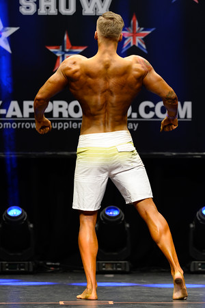 Mens Physique Class Junior 18-23 Years