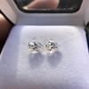 2.49ctw Antique Pear Diamond Pair GIA E VS2/GIA D VS2 6
