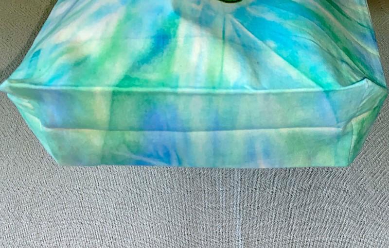 Canvas Bag folded bottom