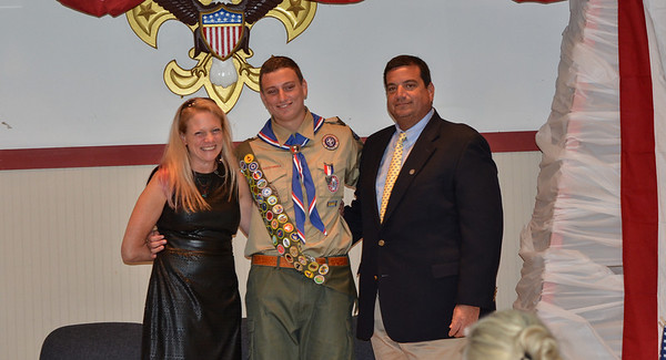 Ben's Eagle Court of Honor pictures