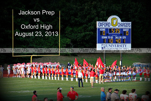 Oxford High vs Jackson Prep 2013