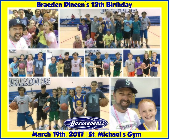 MARCH 19TH, 2017 | Braeden Dineen 12th Birthday