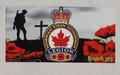 Remembrance Day displays
