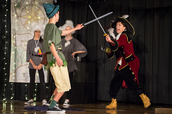 Peter Pan and Wendy (Photos by Rob Kohn)