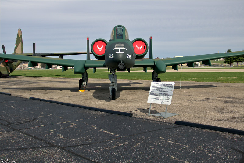 National Museum of the United States Air Force, Dayton, Ohio,   04/12/2019  Fairchild Republic A-10A Thunderbolt II   c/n  A10-0319 78-0699  This work is licensed under a Creative Commons Attribution- NonCommercial 4.0 International License.