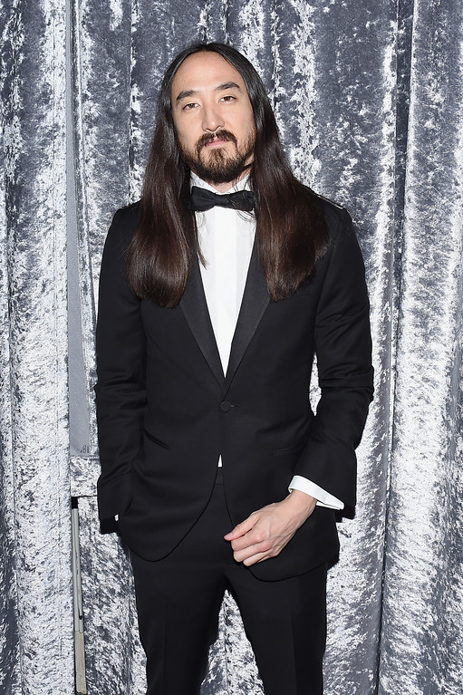 . Musician Steve Aoki attends the Yahoo News/ABC News White House Correspondents\' Dinner Pre-Party at Washington Hilton on April 30, 2016 in Washington, DC.  (Photo by Nicholas Hunt/Getty Images for Yahoo)