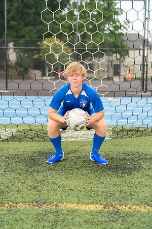 Boys Soccer Portraits