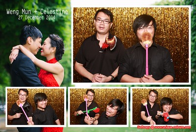 Weng Mun + Celestine Photobooth Album