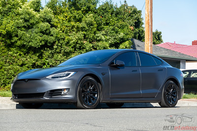 1 Year Old - Model S - XPEL Stealth and CQFR Coating