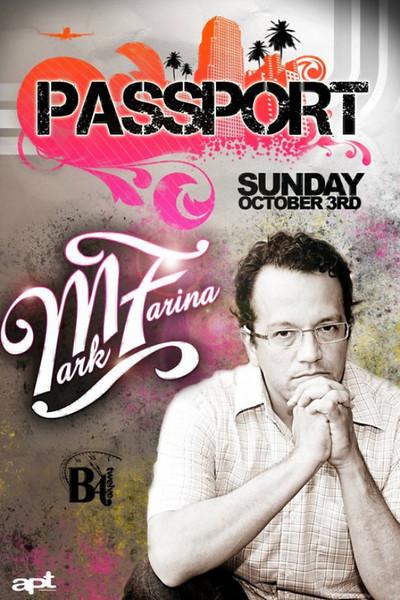 Jaime Gonzalez & George DeSoul presents PASSPORT @ B4TWELVE 10.3.10