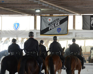 Worcester Police Mounted Unit Graduation
