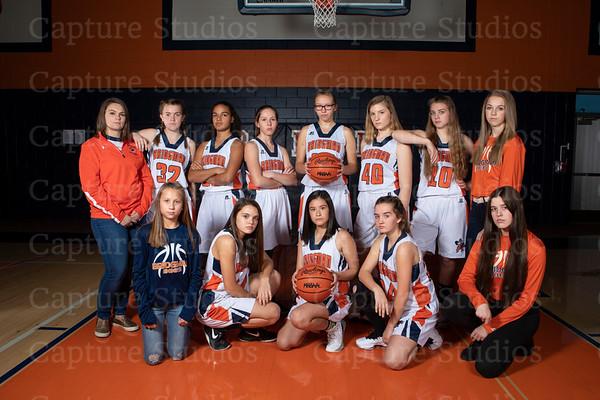 2018-2019 Basketball Girls JV