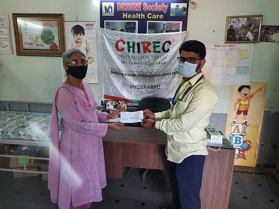 Supported Desire Society to Clear School Fees of Orphan Children