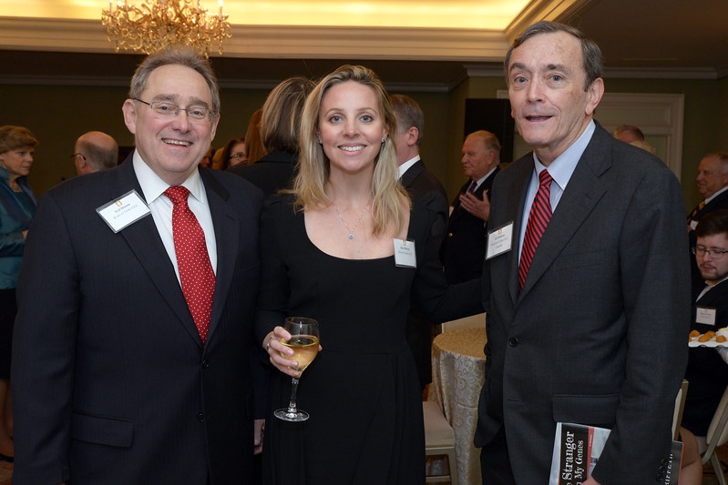 NEHGS Councilor Ed Sullivan with Welch & Forbes guests