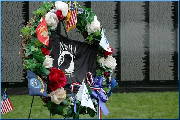 Vietnam Veteran Memorial Traveling Wall