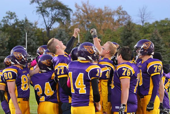 Football vs. Hackett - 10/25/13 - KCHS