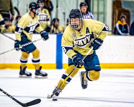 NAVY Men's Ice Hockey vs Wagner (02/09/2018)