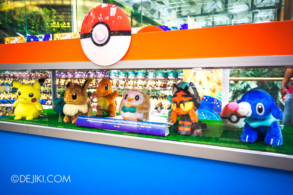 Pokémon at Changi Airport - Redemption Exclusive Pokemon Plush