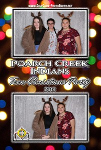 Poarch Creek Indian Christmas 2018