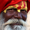Holy man, Varanasi, India