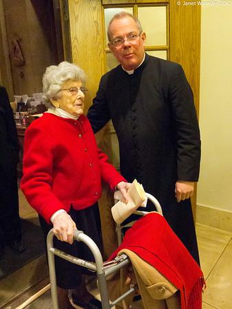2013 Patronal feast - Fr. Sloane retirement