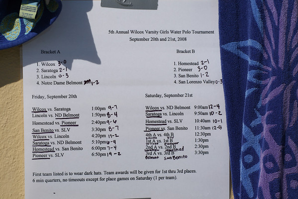 "Wilcox Tournament ""at"" Saratoga"