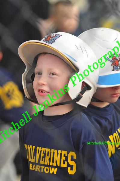 Michigan Vs Auburn 7U Rec Ball 4/17/14