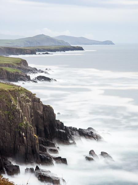 Dingle bay cliffs