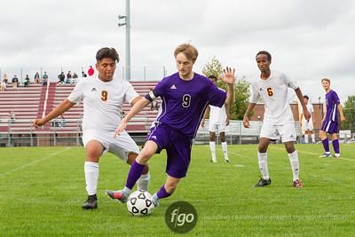 9-26-17 Minneapolis Southwest v Minneapolis Roosevelt Boys Soccer