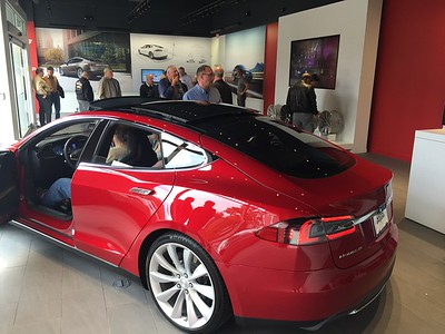 Tesla Tour and Test Drive - November 2015