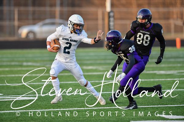 Football Freshman - Stone Bridge vs Potomac Falls 03.08.2021 (by Steven Holland)