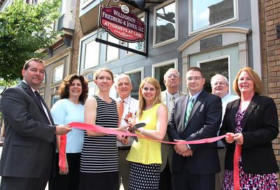 Grand Opening of Williamson, Friedberg & Jones LLC, Tamaqua (5-30-2013)