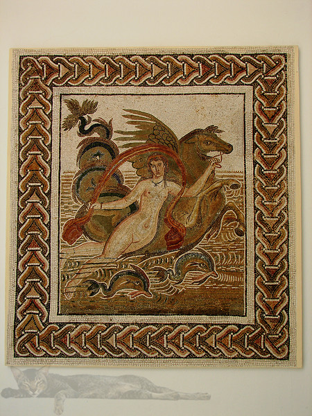 Mosaic in Tunisia