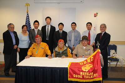 4-25-2010 Navajo Code Talkers at GWU