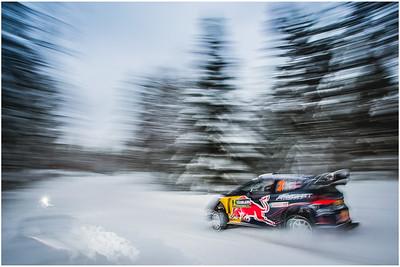 WRC Rally Sweden 2018