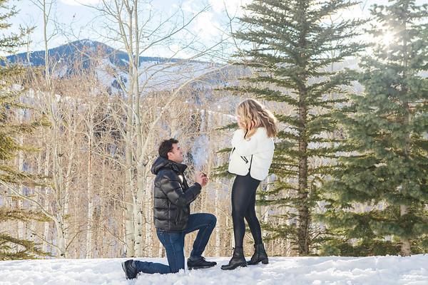 Beaver Creek Engagement - Jordi and Lauren