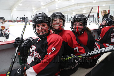 Hockey Girls JVs Middlesex at St George's on 2/29/20