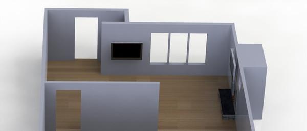 House drawing renderings
