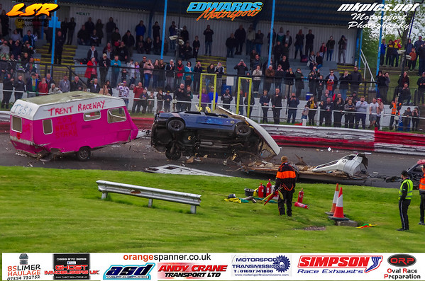 Caravan Destruction Derby, Hednesford, 6 May 2019